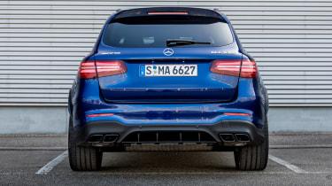 Mercedes AMG GLC 63 S - rear