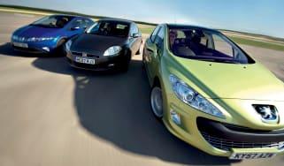 Peugeot 308 vs rivals