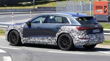 Audi e-tron S - spyshot 12