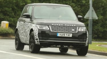 Range Rover - spyshot 1