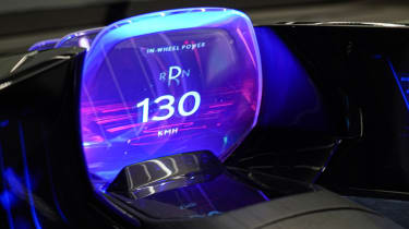 Lexus LF-30 concept car Tokyo 2019 dash