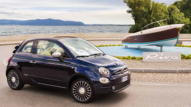 Weird car special editions - Fiat 500 Riva