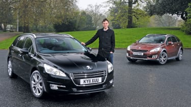 Peugeot 508 SW and RXH
