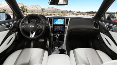 Infiniti Q60 - interior