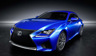 Lexus RC F front angle