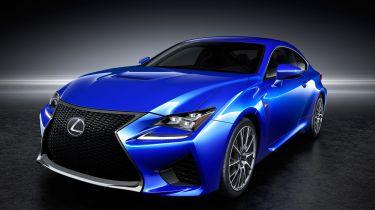 Lexus RC F front angle