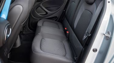 Smart EQ ForFour - rear seats