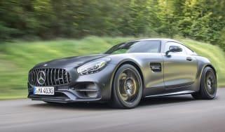 Mercedes-AMG GT C - front