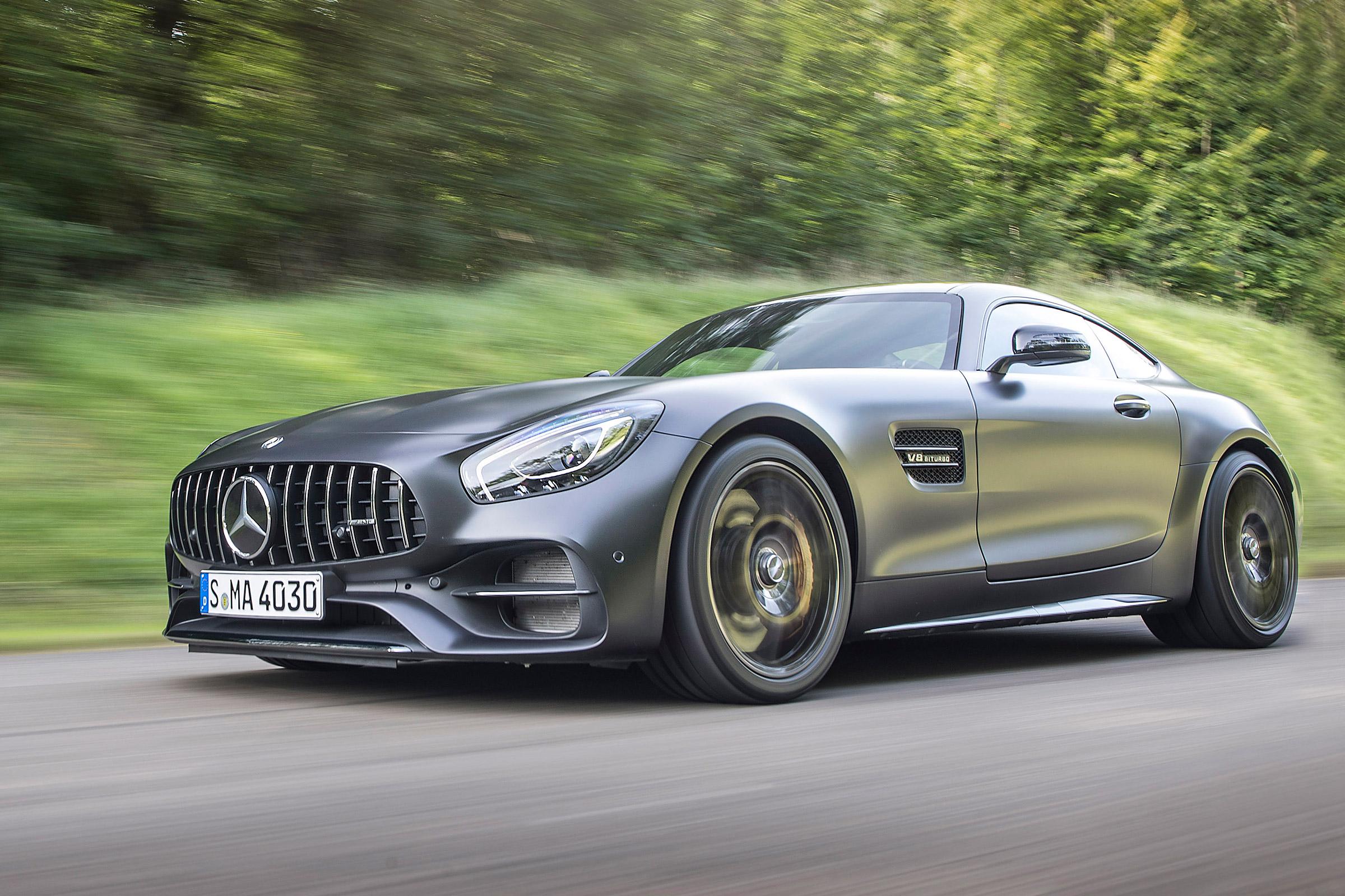 Mercedes Amg Gt Werbung