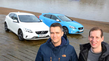 Volvo V40 long-term - first report Rich and Ed