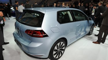 VW Golf BlueMotion concept