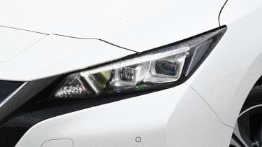Nissan Leaf e+ - front lights