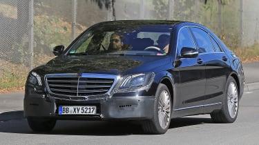 Mercedes S-Class - testing