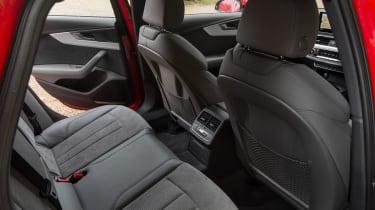 Audi A4 S Line - rear seats
