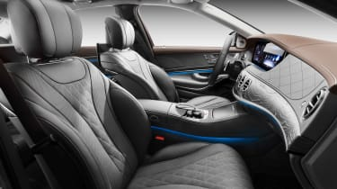 New Mercedes S-Class - front seats