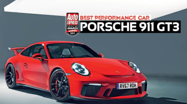 Performance Car of the Year 2017 - Porsche 911 GT3