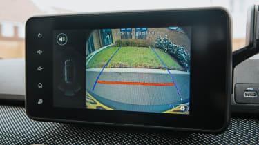 Dacia Sandero Stepway - reversing camera