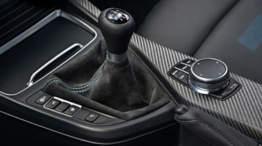 BMW M2 Competition - transmission