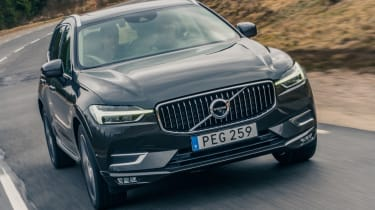 Volvo XC60 ride review - front