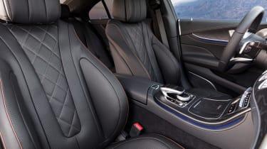 Mercedes CLS - front seats