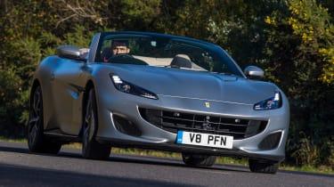 Ferrari Portofino - front cornering
