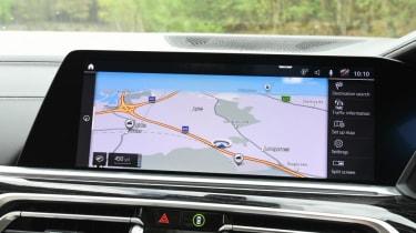 BMW X7 - screen