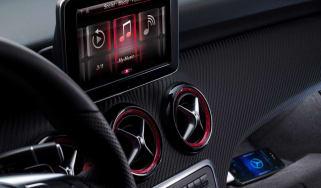 Mercedes A-Class display
