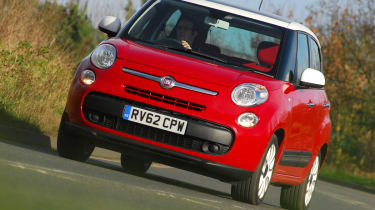 The 500L is Fiat's attempt to bring retro styling to the compact MPV class.
