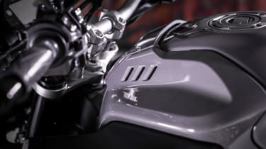 Yamaha MT-10 review - fuel tank