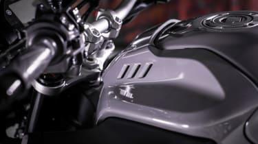 Yamaha MT-10 review - fuel tank