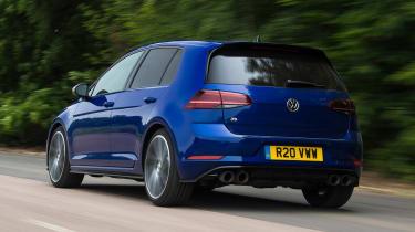 Volkswagen Golf R - rear