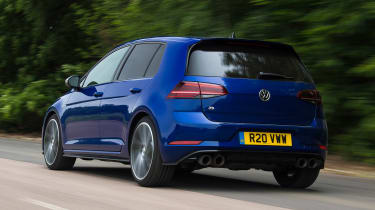 Volkswagen Golf R - rear