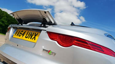 Used Jaguar F-Type - spoiler