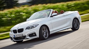 BMW 220d Convertible - front cornering