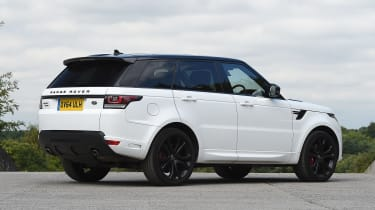 Used Range Rover Sport - rear