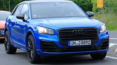 Audi SQ2 spy shots - front quarter