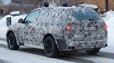BMW X5 2017 aside rear