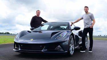 Lotus Emira - Jenson Button and Steve Fowler