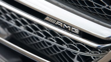 Mercedes S65 AMG grille