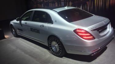 Mercedes-Maybach S-Class - Geneva side