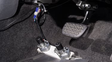 Disability driving feature - pedals