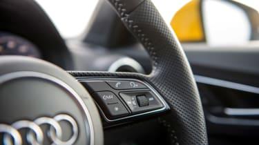 Audi Q2 - steering wheel detail