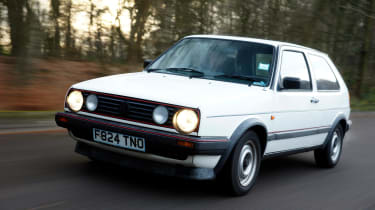 Fast, reliable with an understated cool that was difficult to match, the Golf GTI set the benchmark for 80's hot hatches.