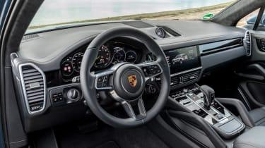 Porsche Cayenne E-Hybrid - cabin