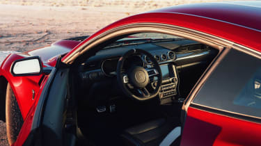 Ford Mustang Shelby GT500 - interior