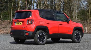Jeep Renegade - rear static