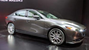 Mazda 3 Fastback -LA Motor Show - front