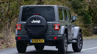 Jeep Wrangler - rear