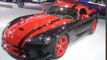 The track-biased Dodge Viper ACR