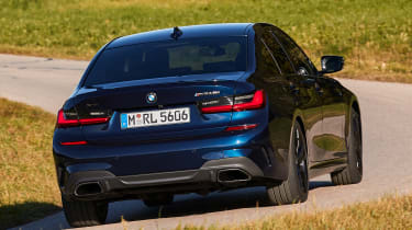 BMW M340i xDrive - rear cornering